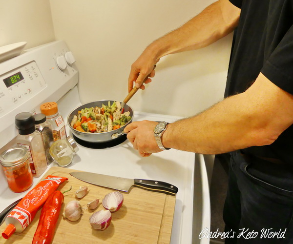 Husband in The Kitchen