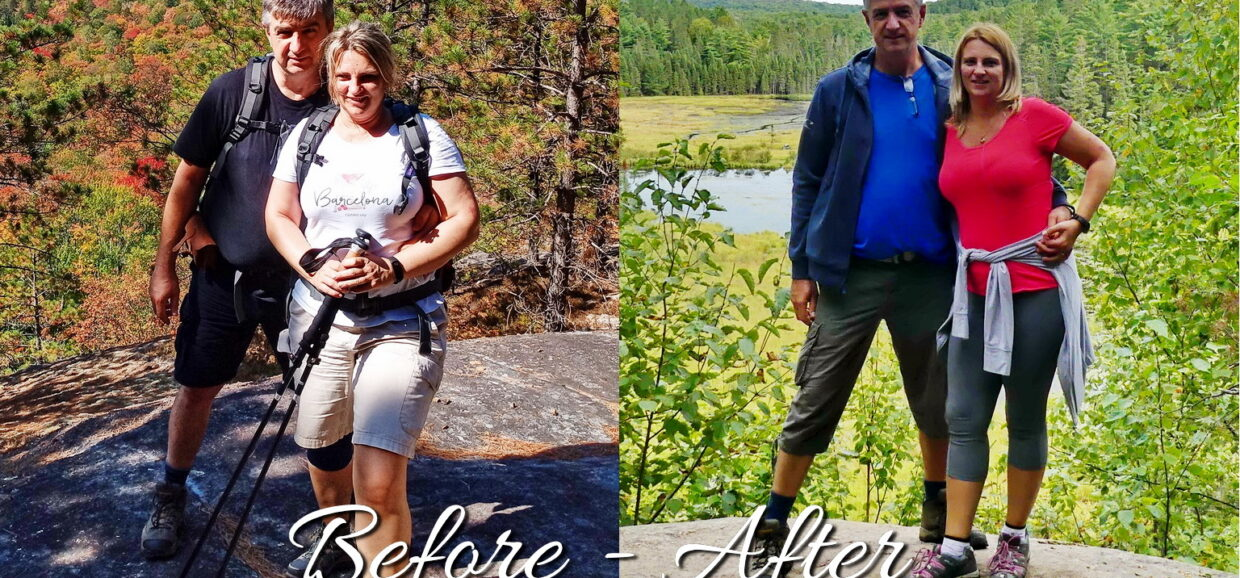 Our Results After Ten Months Of Keto Diet - Before After