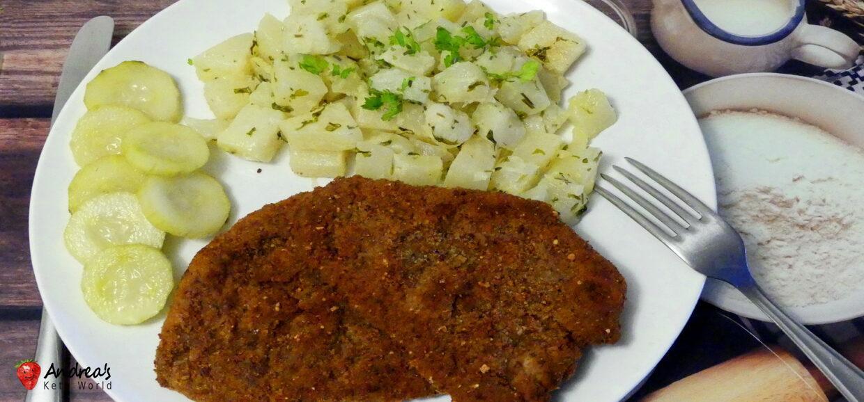 Low-carb Parsley Kohlrabi - Keto, Paleo Side Dish